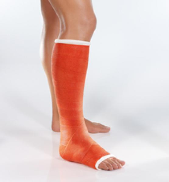 Cellacast® Xtra Stützverband, orange, 3,6 m x 10 cm, 1x 10 Stck. / PZN 00413067
